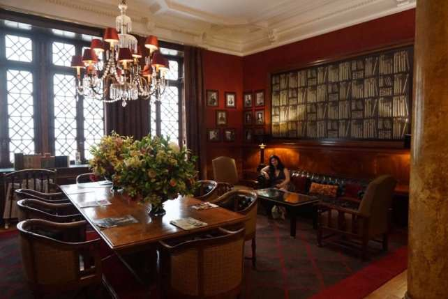 """I loved the decor in the lobby - """"Three Harry Potter Porto Sites"""" - Two Traveling Texans"""