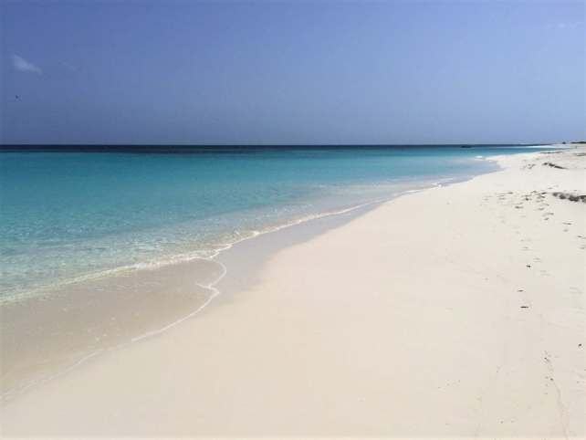 "The sand and water at Shoal Bay Beach is pretty much perfect! - ""Beachy Day Trip to Anguilla"" - Two Traveling Texans"
