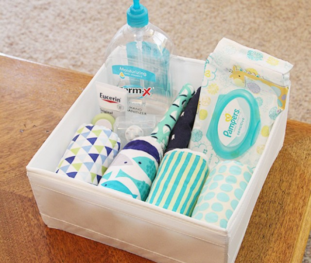 Coffee Table Baby Basket