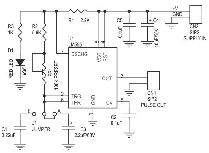 pulse motor generator circuit