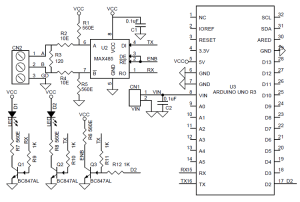 UNO Shield RS485 Archives  Circuit Ideas I Projects I
