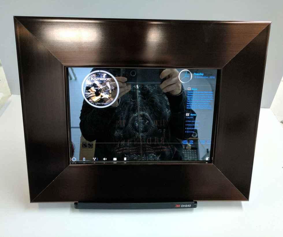 Bronze Smart Mirror For TabPro S