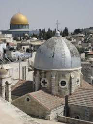 Church of Holy Sepulchre and Dome of the Rock