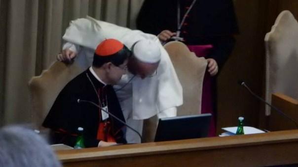 Francis whisper