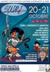 affiche SQUAW Saintes convention univers alternatif et web