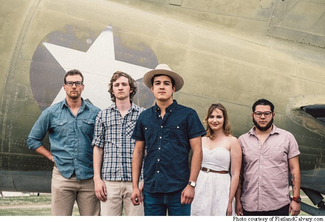 Flatland Calvary is a five-place band from Lubbock, TX.