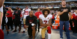 National anthem protest continues to cause controversy