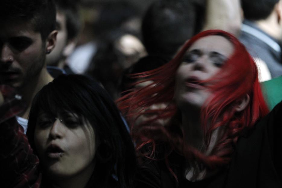 La chica del pelo rojo, un homenaje a Edvard Munch