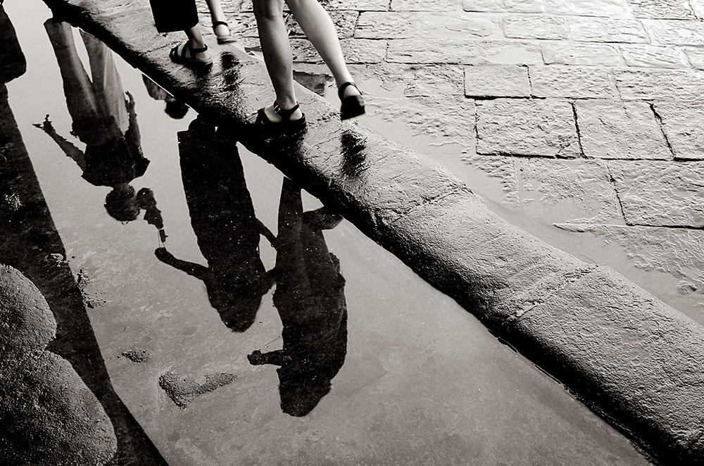 Tormenta de verano en Florencia.