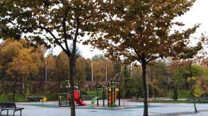Txikileku - celebración - cumpleaños - zona parque exterior - columpios