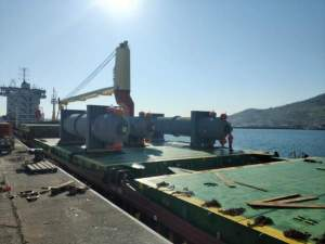 Ocean freight docks