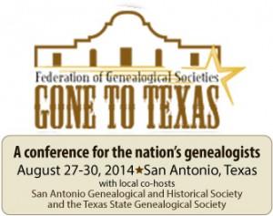 Register  now for FGS 2014 in San Antonio, Texas!
