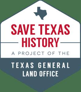Save Texas History logo