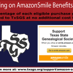 Support TxSGS With AmazonSmile