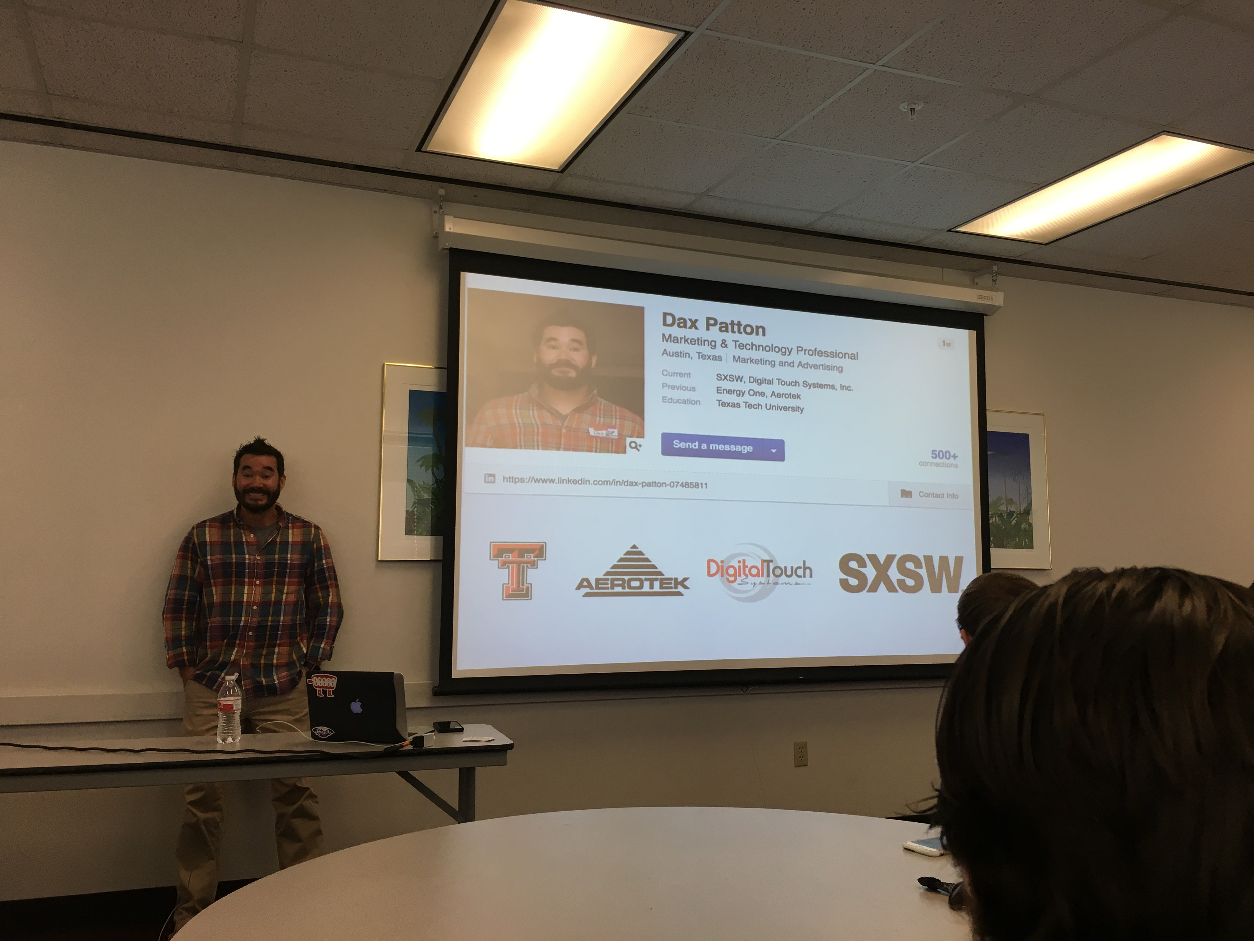 marketing and being a millennial mass communication week dax patton beginning presentation on marketing like a millennial