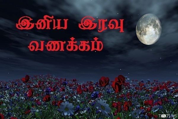 Tamil Good Night SMS Wishes Images For Facebook WhatsApp Picture SMS Txtsms