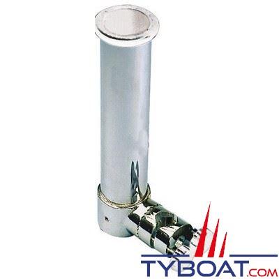 porte canne orientable osculati orientable inox 316 pour balcon o 35 40 mm