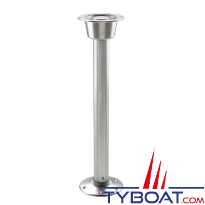 vetus pied de table amovible hauteur 68 50 cm