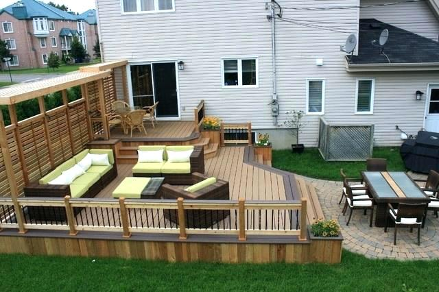 Bowie Deck, Patio & Landscaping - May 2018 | Maryland Bath ... on Patio With Deck Ideas id=85607