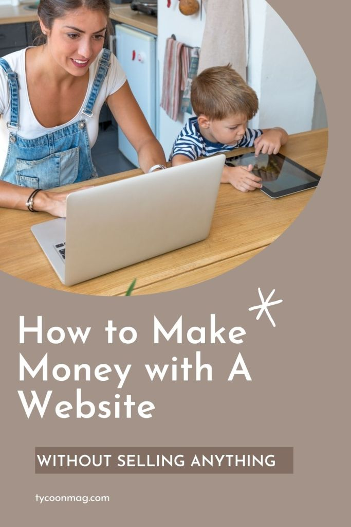 make money with website, no selling - featured