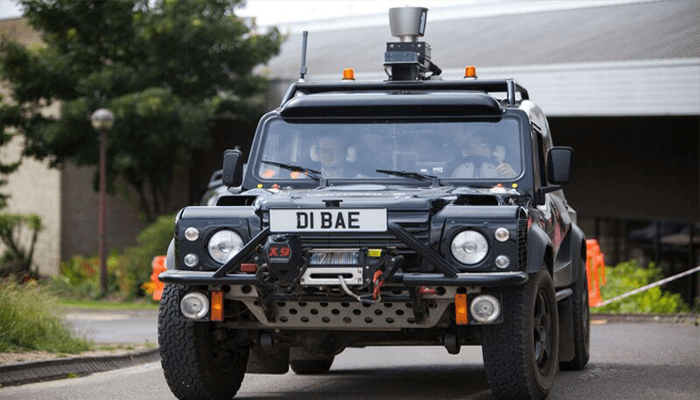 Engineers interact with autonomous vehicles technology