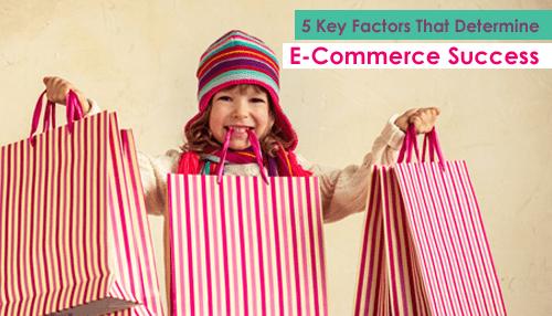 5 Key Factors That Determine E-Commerce Success