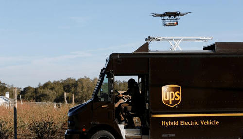 UPS tests Drone for Delivery
