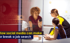 How social media can make or break a job search