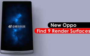 New Oppo Find 9 Render Surfaces