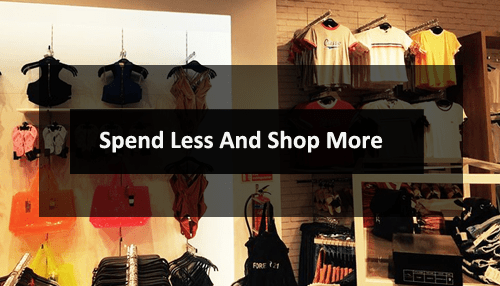 Spend Less and Shop More