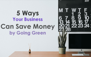 5 Ways Your Business Can Save Money by Going Green