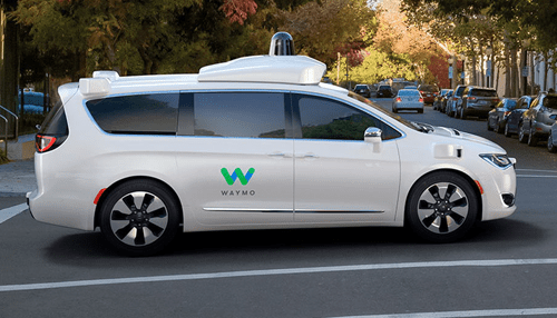 Alphabet's Waymo is about to launch driverless car