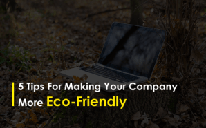 5 Tips for Making Your Company more Eco-Friendly