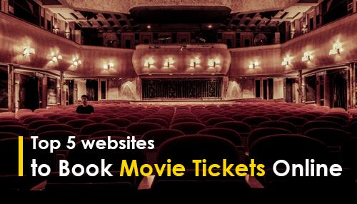 Top 5 Websites to Book Movie Tickets Online