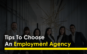 Tips To Choose An Employment Agency