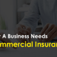 Why A Business Needs Commercial Insurance?