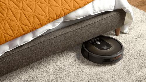the vacuuming robot