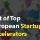 European Startup Accelerators