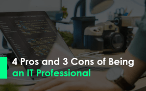 4 Pros and 3 Cons of Being an IT Professional