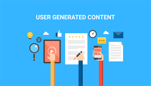 Make use of user-generated content