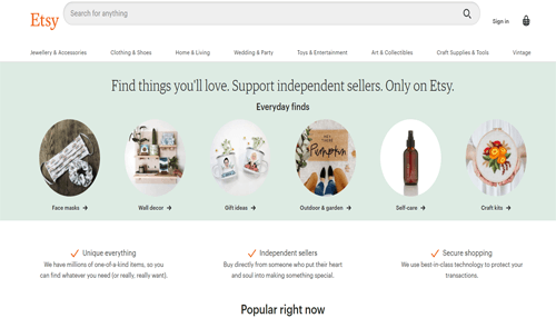 etsy usa online shop