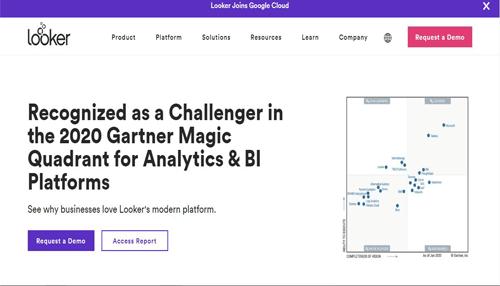 looker Business Intelligence tool