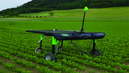 Ecrobotix robot for agriculture