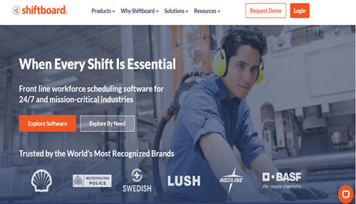 Shiftboard employee scheduling tool