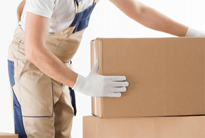 packing supplies and storage units