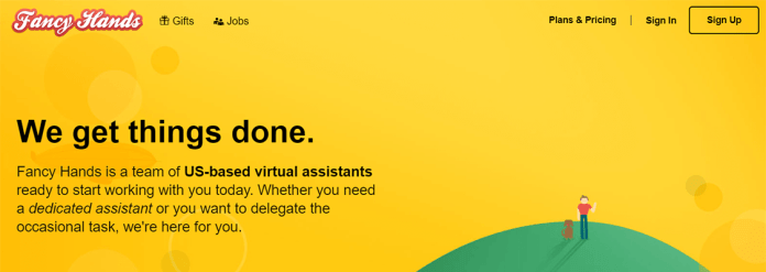 Fancy Hands virtual assistant company