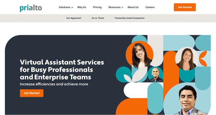 Prialto VA services for small businesses