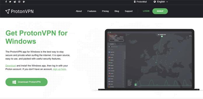 ProtonVPN for Windows