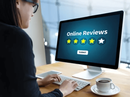 Online reviews real estate school