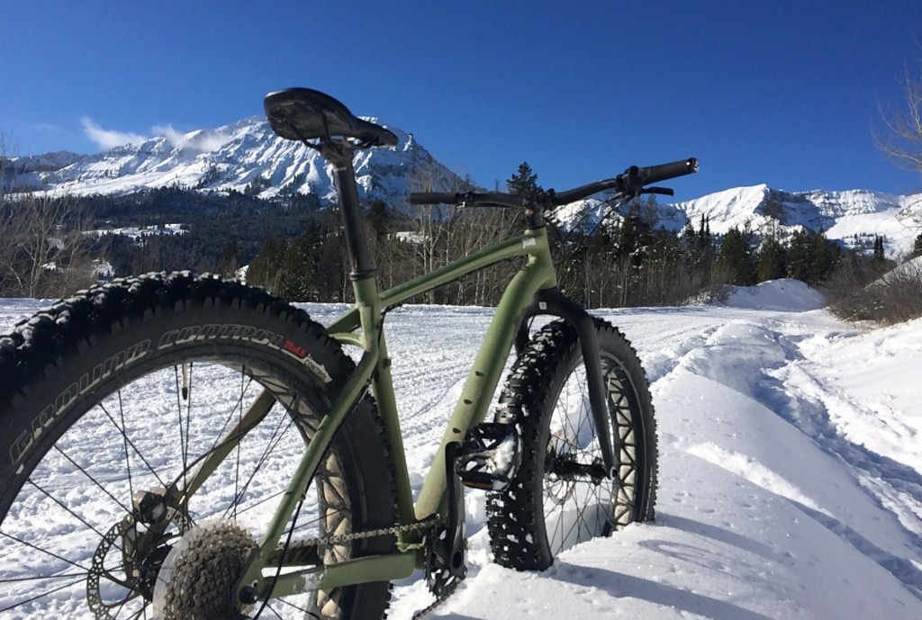 Fat Bike Greys River 2